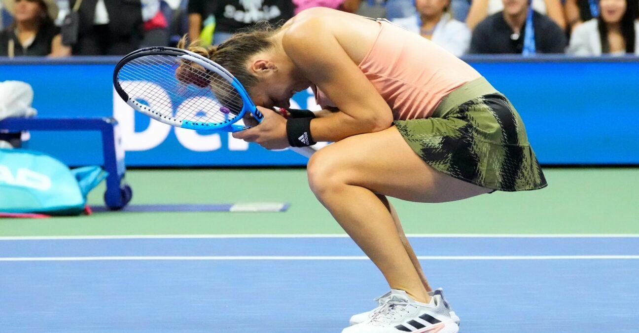 Maria Sakkari at the 2021 US Open