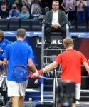 Daniil Medvedev & Denis Shapovalov, 2021 Laver Cup
