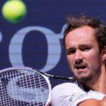 Daniil Medvedev à l'US Open en 2021