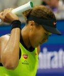 Naomi Osaka at the 2021 US Open