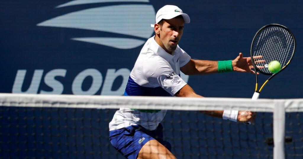 Novak Djokovic, US Open 2021