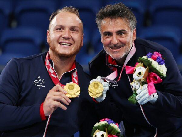 Nicolas Peifer & Stéphane Houdet, 2021 Tokyo Paralympics