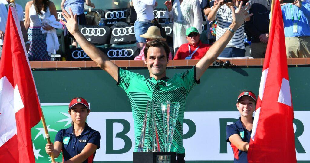 Roger Federer, 2017 Indian Wells champion