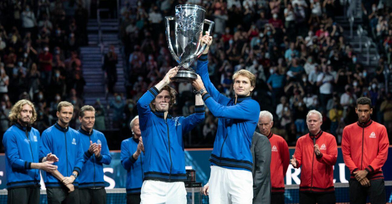 Andrey Rublev & Alexander Zverev, 2021 Laver Cup