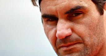 Roger Federer, portrait, 2021
