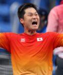 Shingo Kunieda at the Tokyo Paralympics in 2021