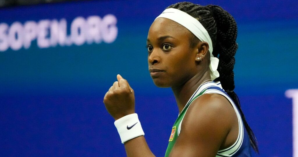 Sloane Stephens at the 2021 US Open