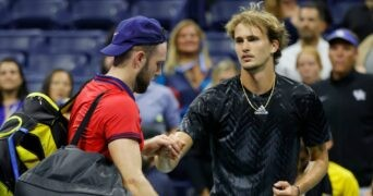 Sock - Zverev - US Open