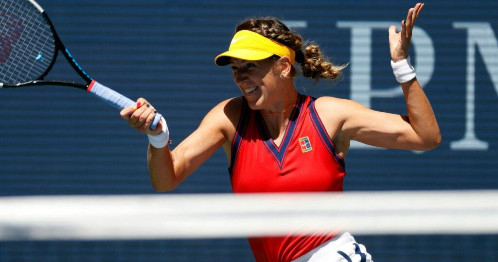 Victoria Azarenka at the 2021 US Open