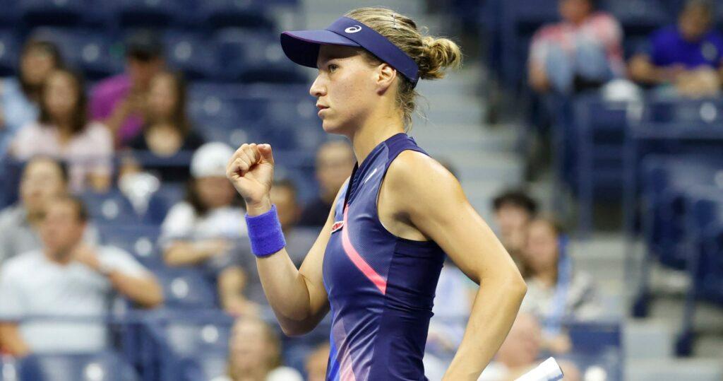 Viktorija Golubic at the 2021 US Open