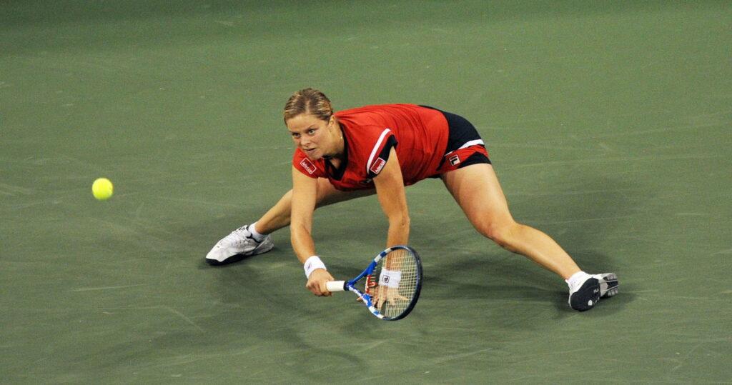 Kim Clijsters, pendant l'US Open 2009