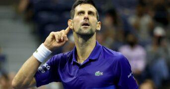 Novak Djokovic, still on course for making history.