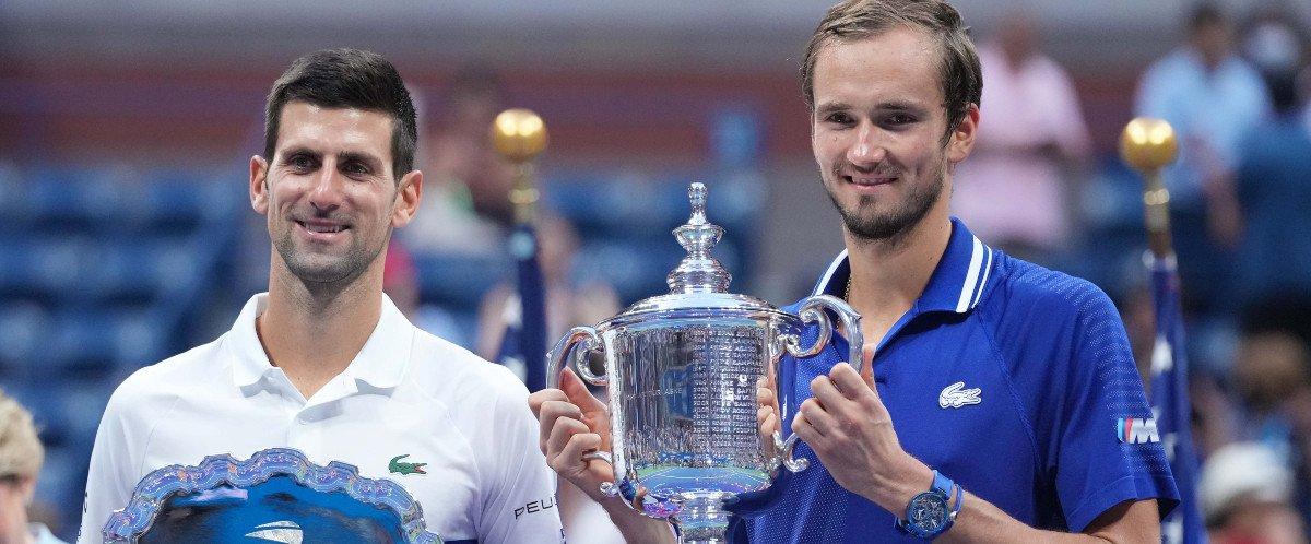 Medvedev et Djokovic, US Open 2021