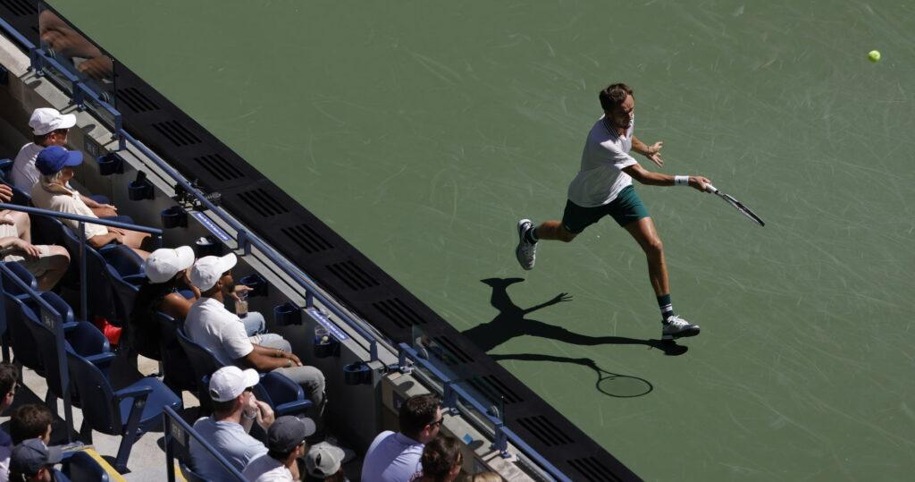 Daniil Medvedev, à US Open en 2021