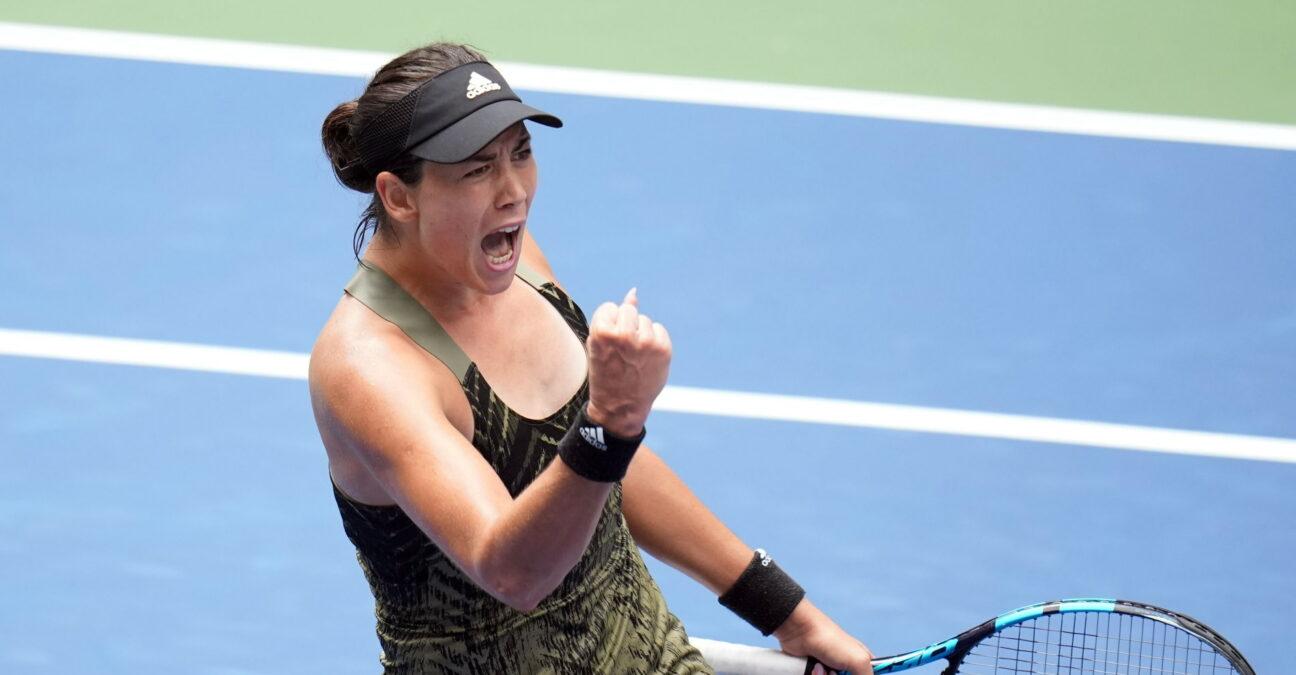 Garbiñe Muguruza, à l'US Open en 2021