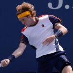 Andrey Rublev à l'US Open en 2021