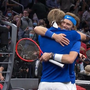 Laver Cup 2021 Zverev and Rublev