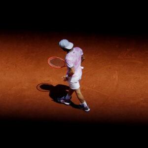 Diego Schwartzman à Roland-Garros en 2021
