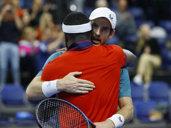 Andy Murray et Frances Tiafoe, Anvers 2021
