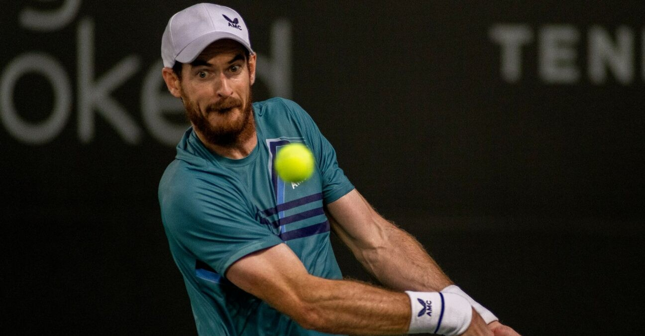 Andy Murray at San Diego in 2021
