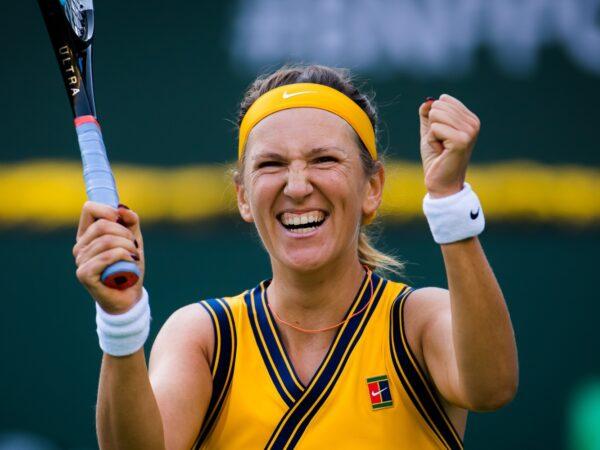 Victoria Azarenka at the 2021 BNP Paribas Open WTA 1000 tennis tournament