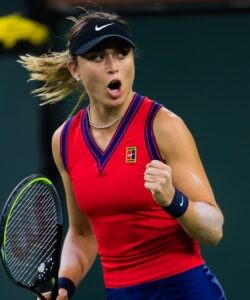 Paula Badosa at the 2021 BNP Paribas Open WTA 1000 tennis tournament in Indian Wells