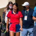 Emma Raducanu and team Indian Wells (1)