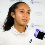 Leylah Fernandez, à Abou Dabi 2021